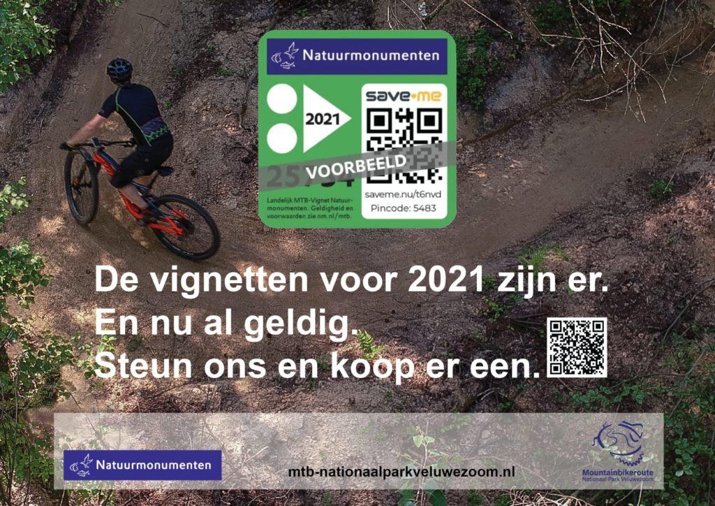 Afbeelding MTB Vignet Natuurmonumenten Veluwezoom 2021